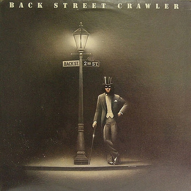 Back Street Crawler / SECOND STREET (Atlantic) 1976
