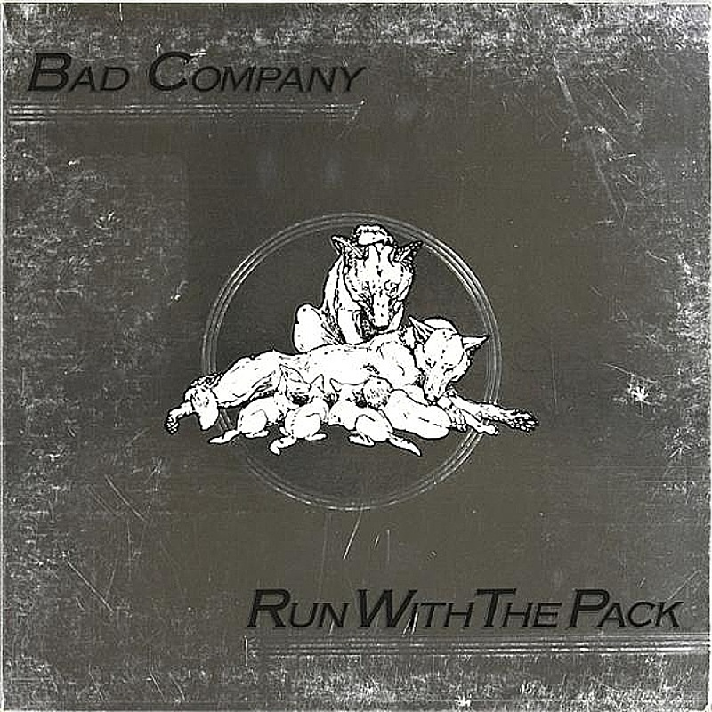 Bad Company / STRAIGHT SHOOTER (Island) 1975