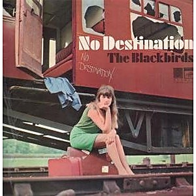 Blackbirds / NO DESTINATION (Saga UK) 1968
