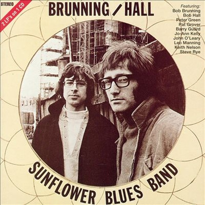Brunning (Hall) Sunflower Blues Band / THE BRUNNING HALL SUNFLOWER BLUES BAND (Gemini) 1971