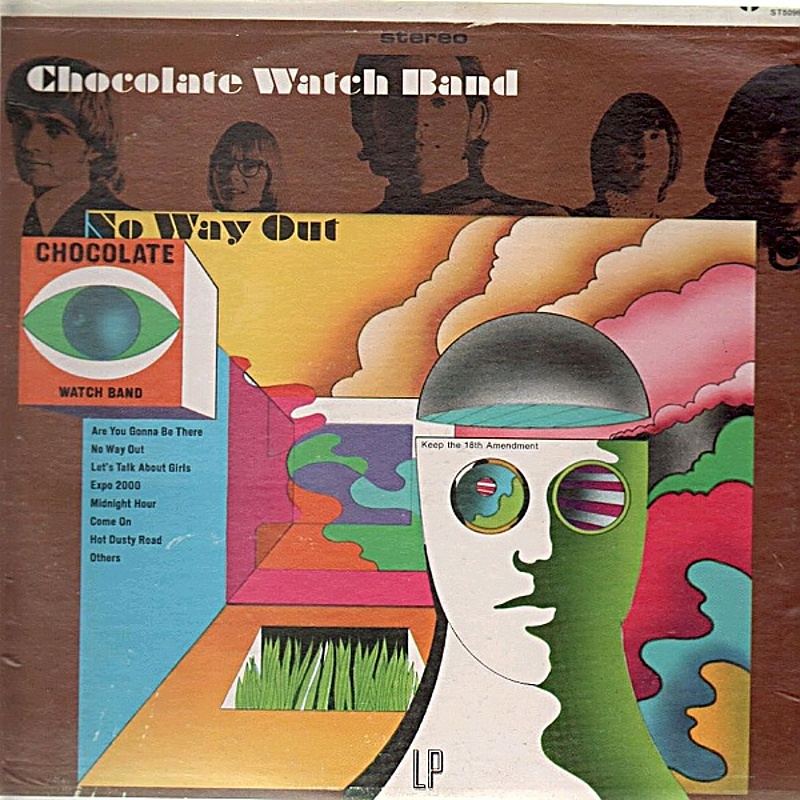 Chocolate Watch Band / NO WAY OUT (Tower) 1967