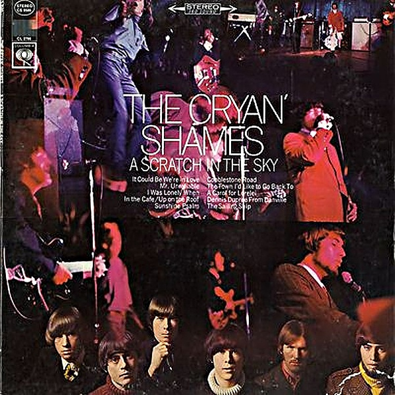 The Cryan Shames / A SCRATCH IN THE SKY (Columbia) 1967