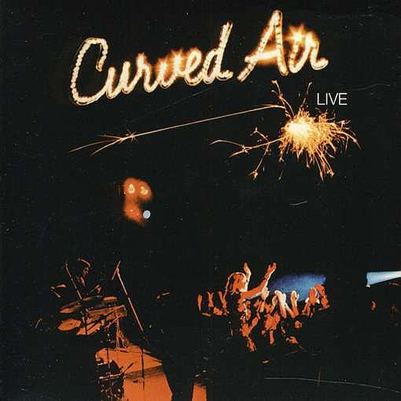 Curved Air / MIDNIGHT WIRE (BTM) 1975