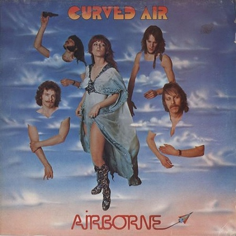 Curved Air / CURVED AIR LIVE (Deram) 1975