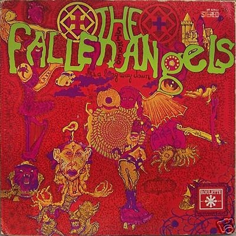 The Fallen Angels / IT'S A LONG WAY DOWN (Roulette) 1968