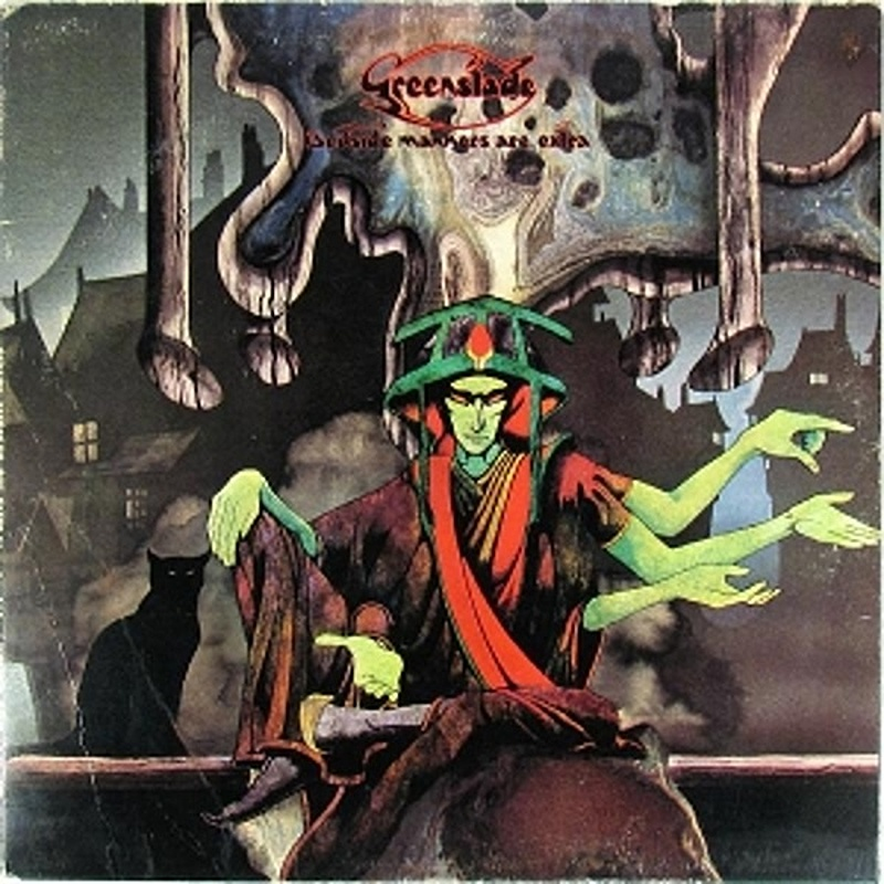 Greenslade / BEDSIDE MANNERS ARE EXTRA (Warner Bros) 1973