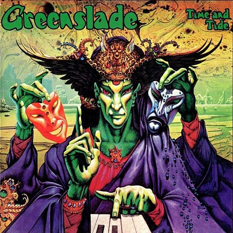 Greenslade / TIME AND TIDE (Warner Bros) 1975