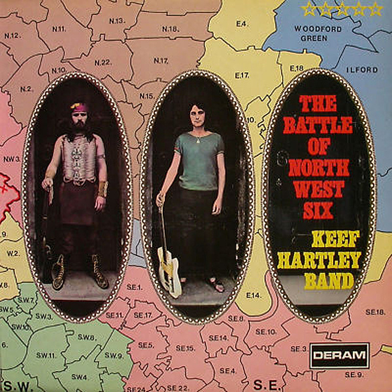 Keef Hartley Band / THE BATTLE OF NW6 (Deram) 1970