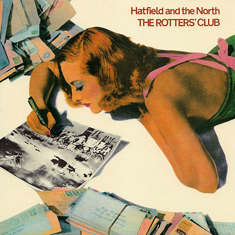 Hatfield Аnd The North / THE ROTTERS CLUB (Virgin) 1975