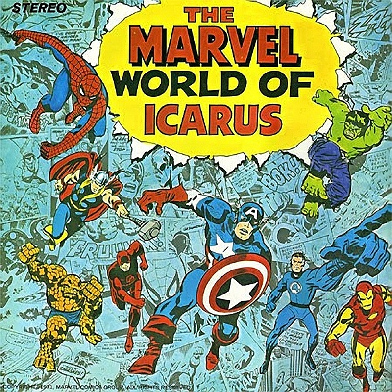 Icarus / THE MARVEL WORLD OF ICARUS (Pye) 1972