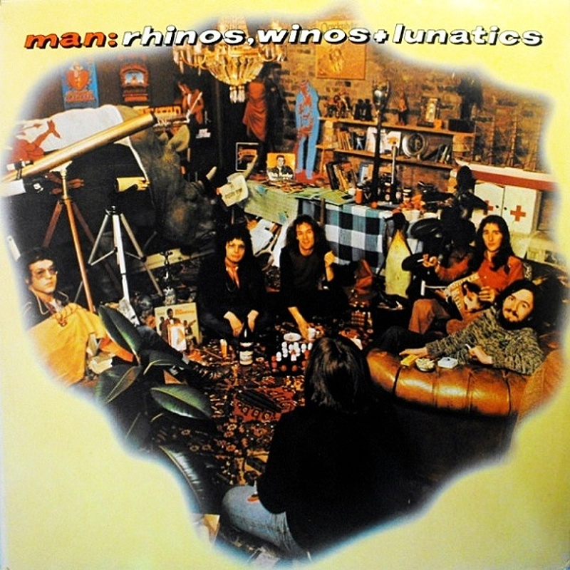 Man / RHINOS, WINOS AND LUNATICS (United Artists) 1974