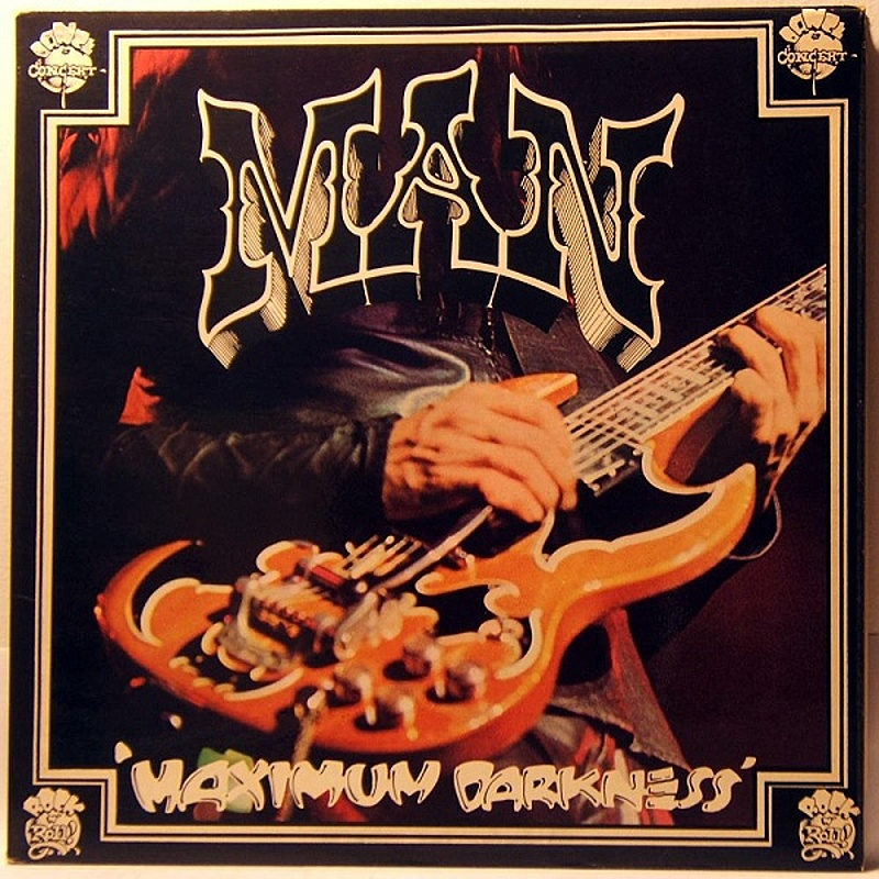 Man / MAXIMUM DARKNESS (United Artists) 1975