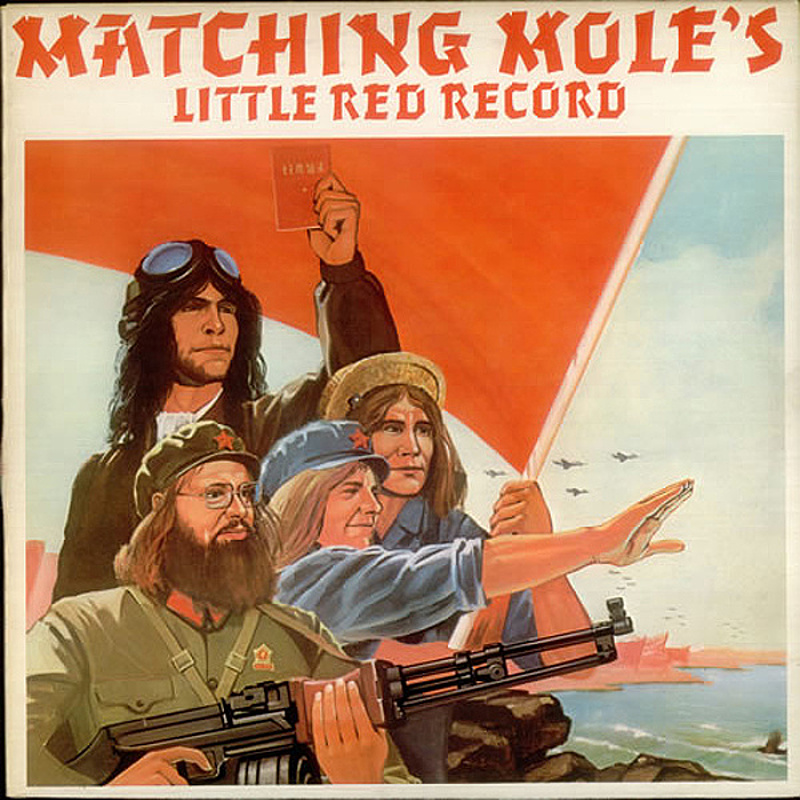 Matching Mole / MATCHING MOLE'S LITTLE RED RECORD (CBS) 1972