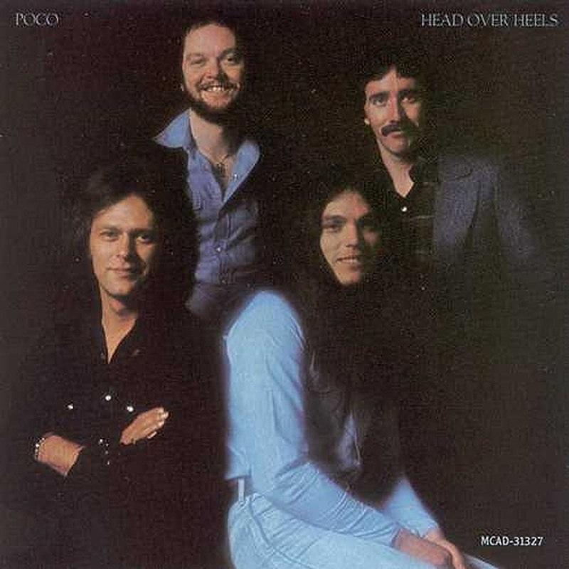 Poco / HEAD OVER HEELS (ABC Records) 1975