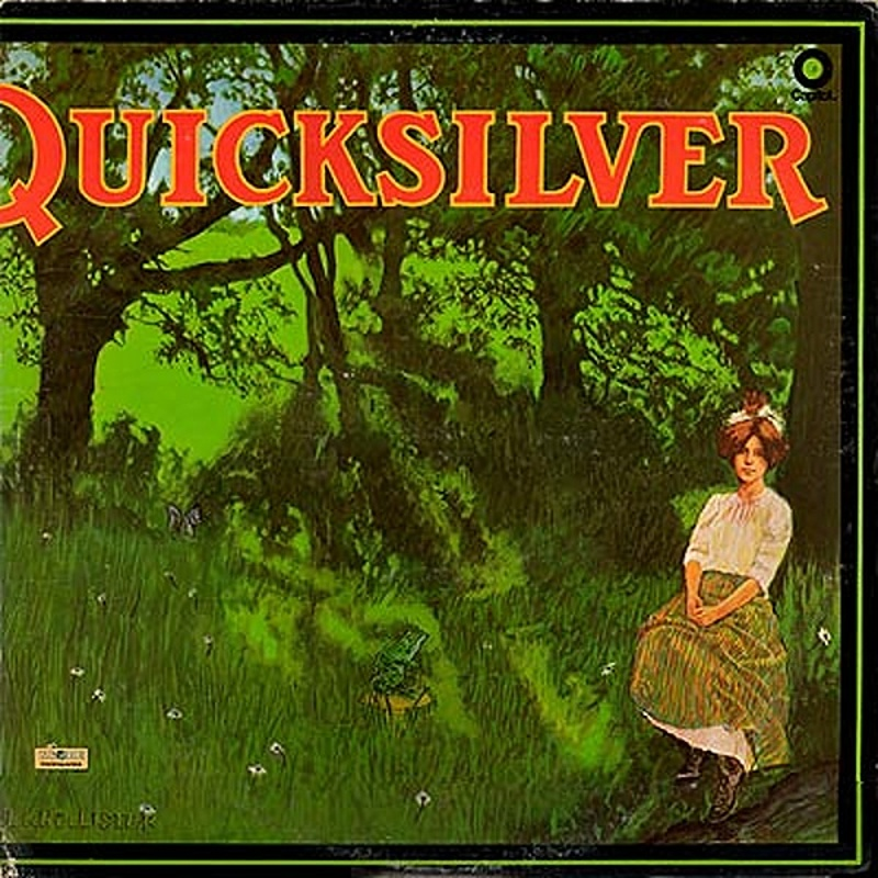 Quicksilver Messenger Service / SHADY GROVE (Capitol) 1969