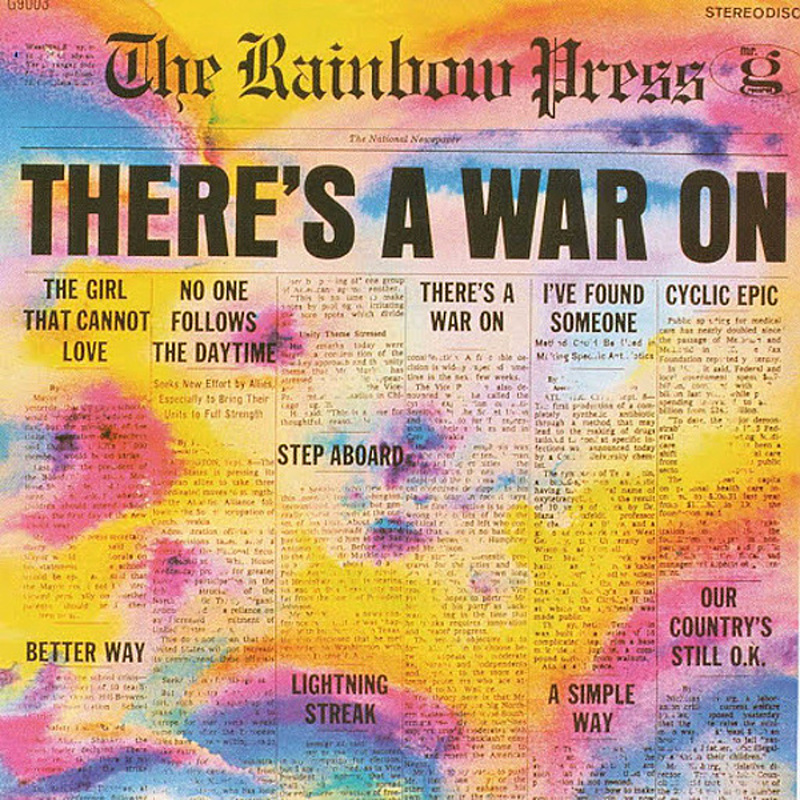 The Rainbow Press / THERE'S A WAR ON (Mr G) 1968