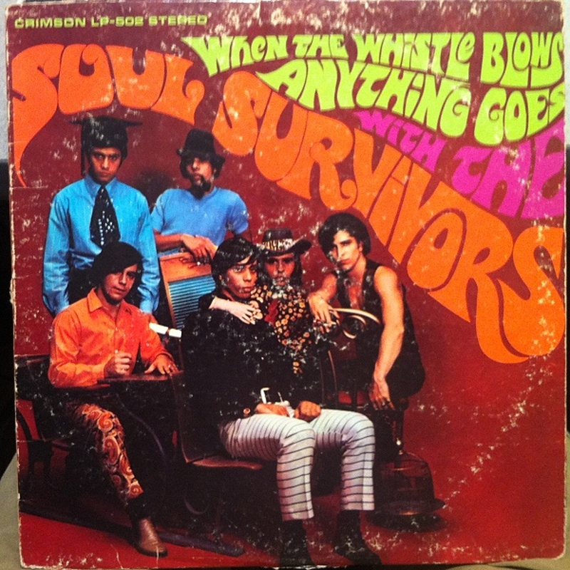 The Soul Survivors / WHEN THE WHISTLE BLOWS ANYTHING GOES WITH THE SOUL SURVIVORS (Crimson) 1967