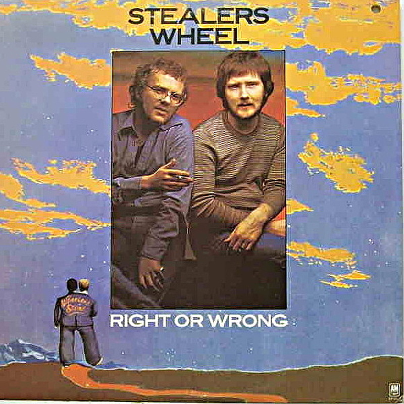 Stealer's Wheel / RIGHT OR WRONG (A&M) 1975