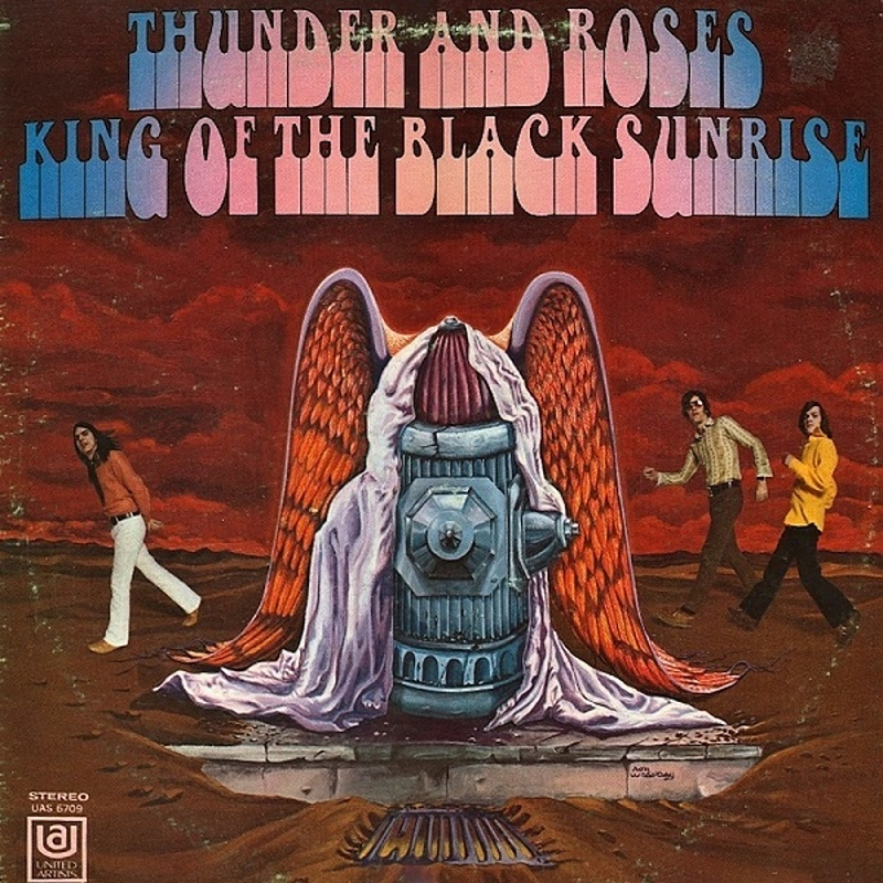 Thunder And Roses / KING OF THE BLACK SUNRISE (United Artists) 1969