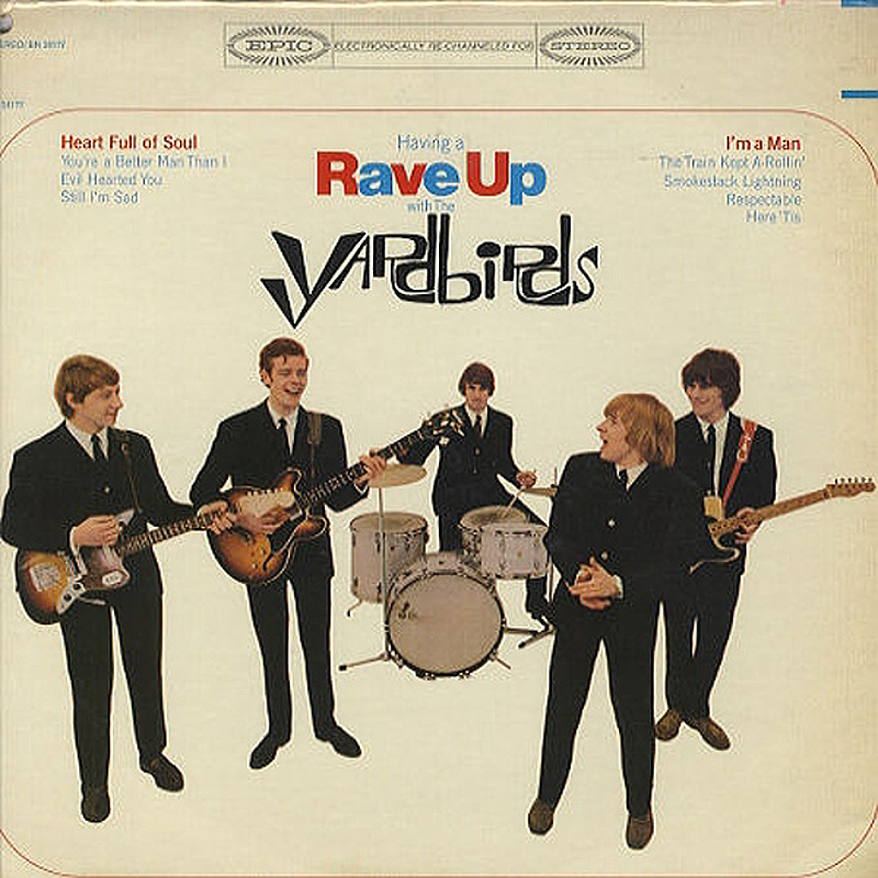 The Yardbirds / HAVING A RAVE UP (Epic, USA) 1965