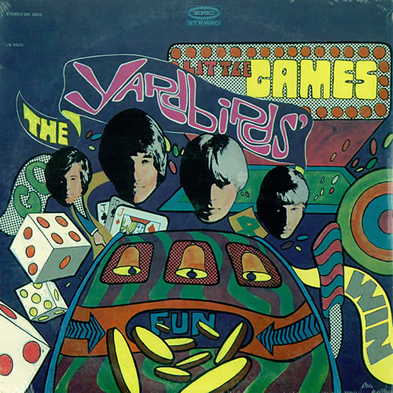 The Yardbirds / LITTLE GAMES (Epic, USA) 1967