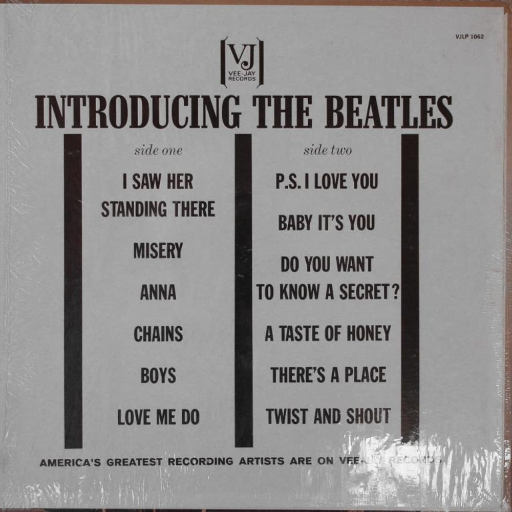 The Beatles -INTRODUCING THE BEATLES (USA/Vee Jay) 1964