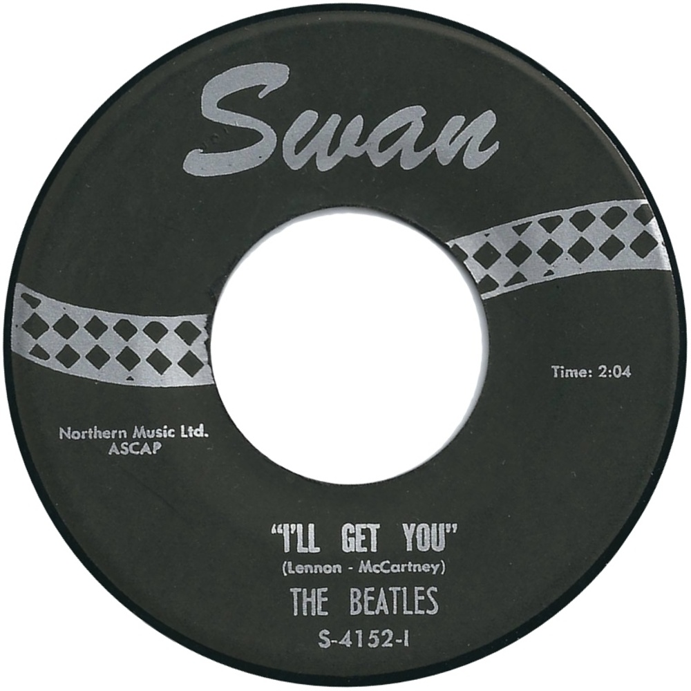 The Beatles - She Loves You / I'll Get You (USA/Swan) 1964