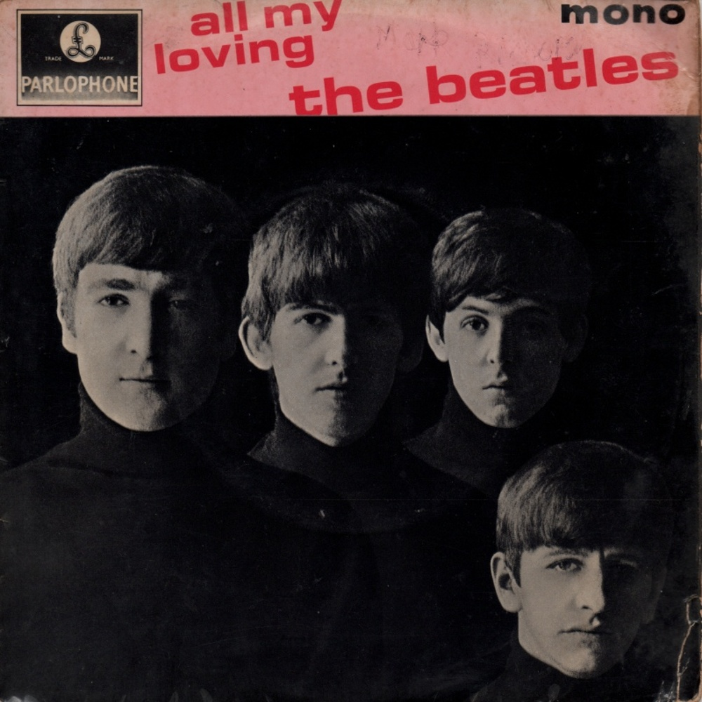 The Beatles - ALL MY LOVING (EP/UK/Parlophone) 1964