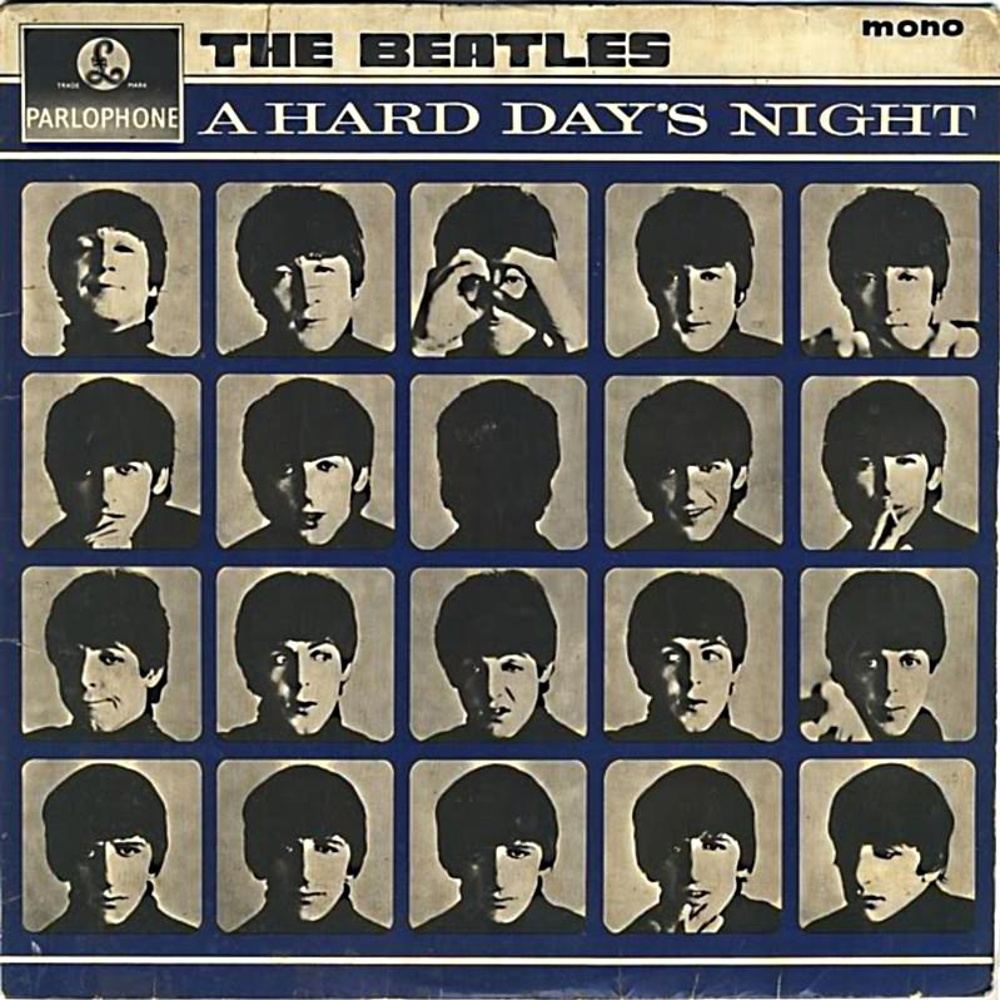 The Beatles ‎/ A HARD DAY'S NIGHT (1964)