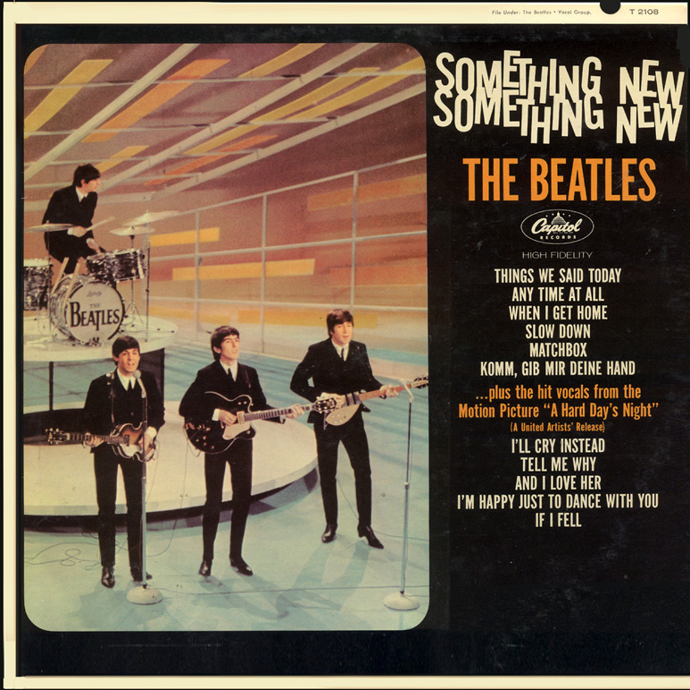 The Beatles - SOMETHING NEW (USA/Capitol) 1964