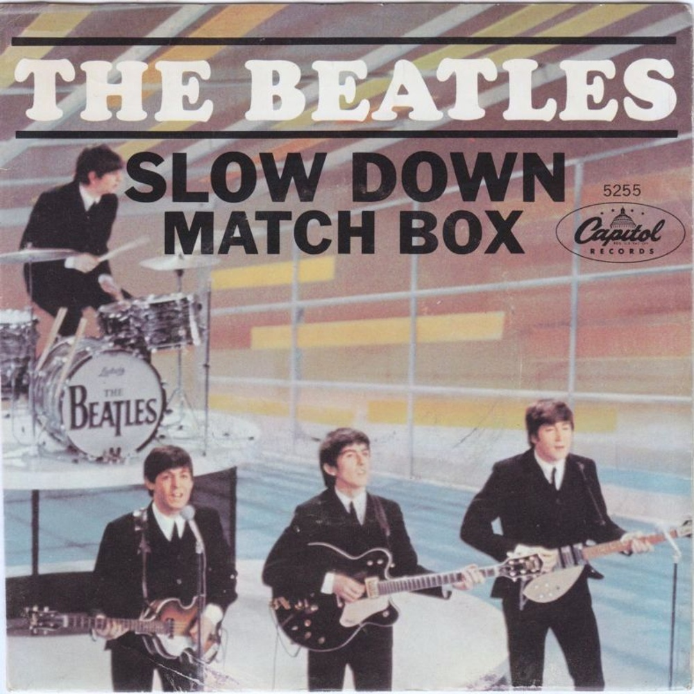 The Beatles - Slow Down / Matchbox (USA/Capitol) 1964