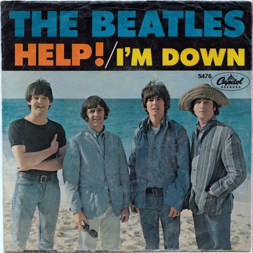 The Beatles - Help! / I'm Down (USA/Capitol) 1965