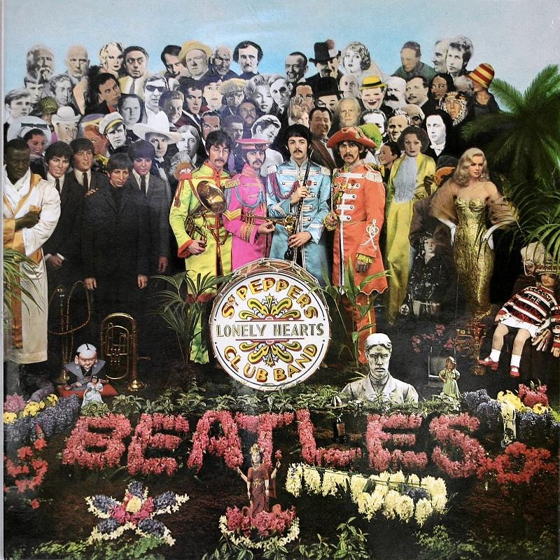 SGT. PEPPER'S LONELY HEARTS CLUB BAND by The Beatles / 1967