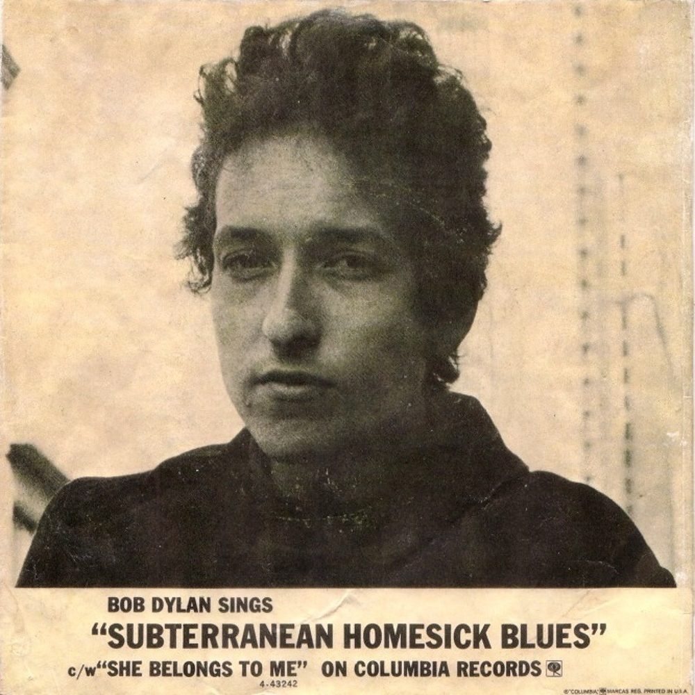 Bob Dylan - Subterranean Homesick Blues / She Belongs To Me / 1965 (Columbia)