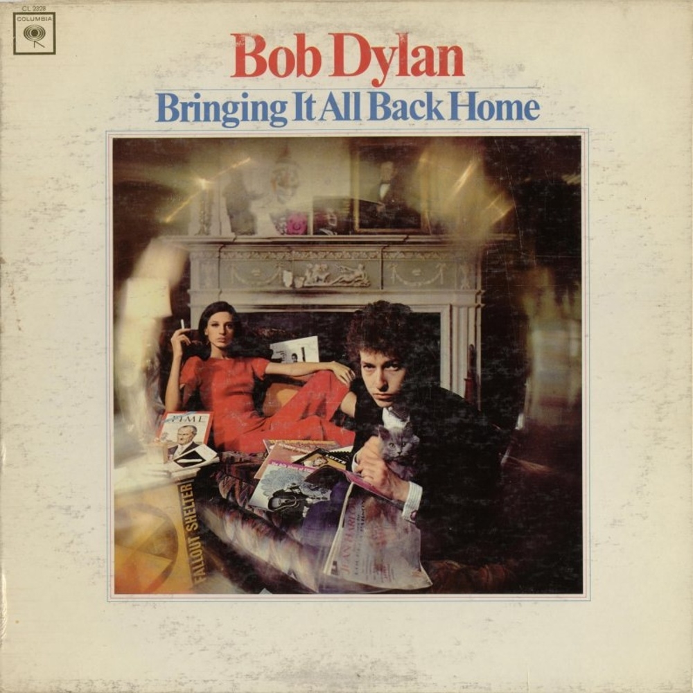 Bob Dylan - (LP/USA #5) BRINGING IT ALL BACK HOME / 1965 (Columbia)