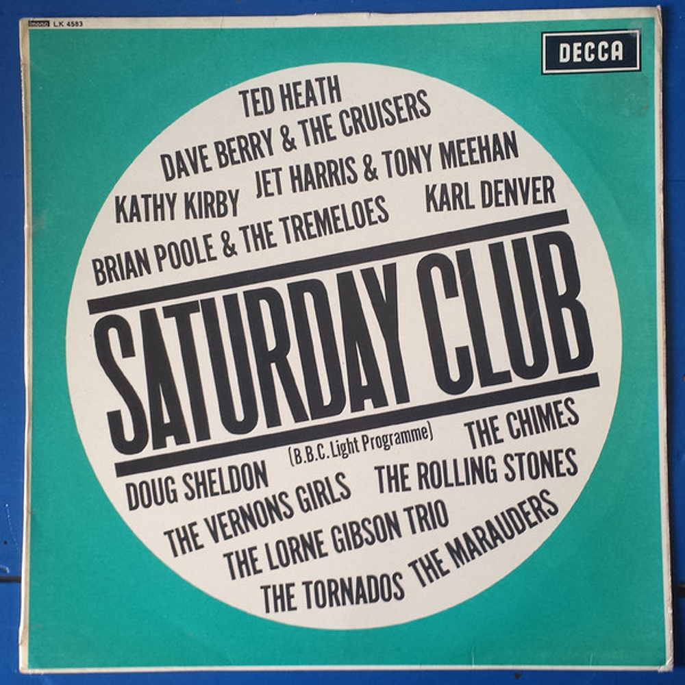 U.K. compilation album by various artists: SATURDAY CLUB