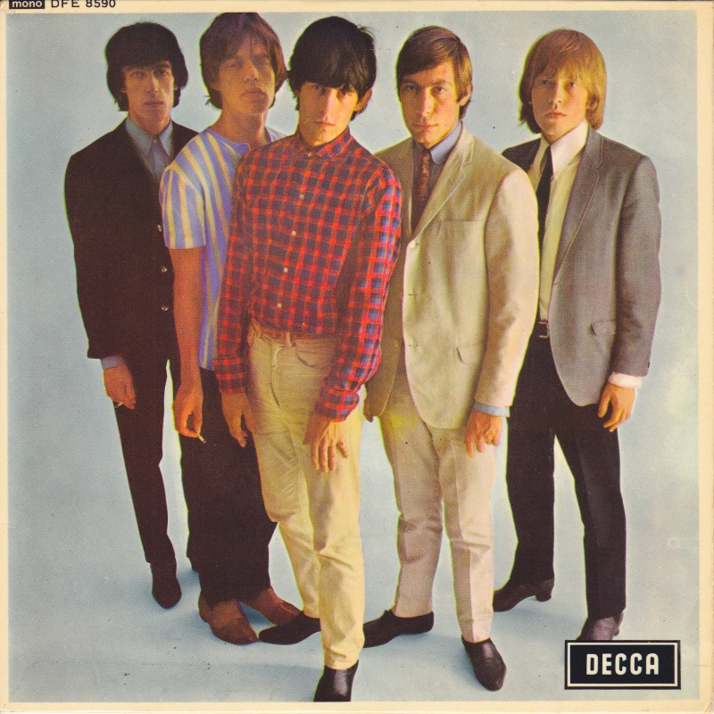 The Rolling Stones - FIVE BY FIVE (EP) / 1964 (Decca)