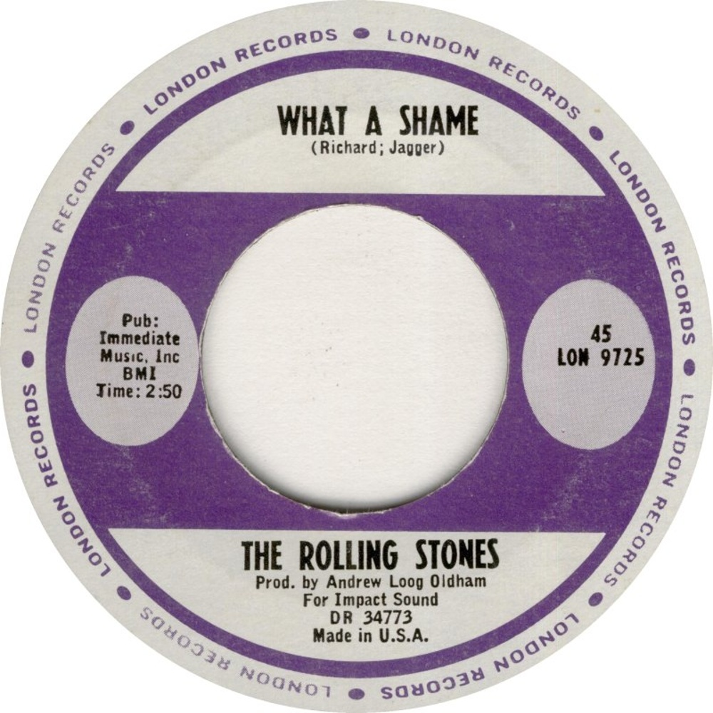 The Rolling Stones - Heart Of Stone / What A Shame (1964/12/19) London