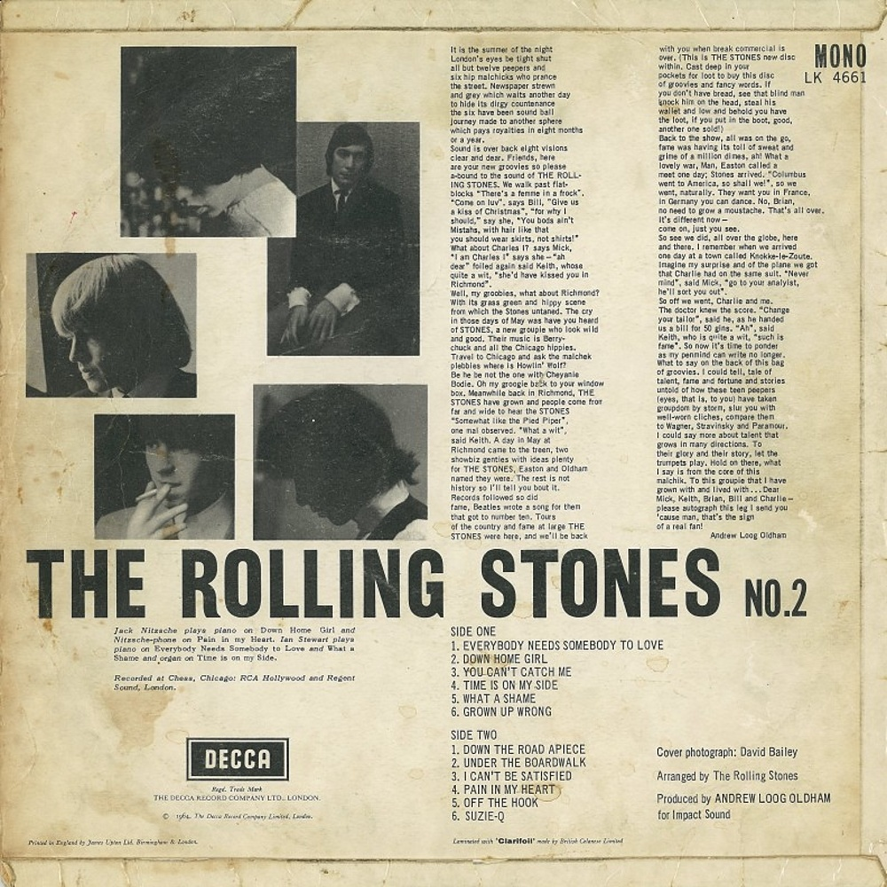 THE ROLLING STONES NO.2 / январь 1965