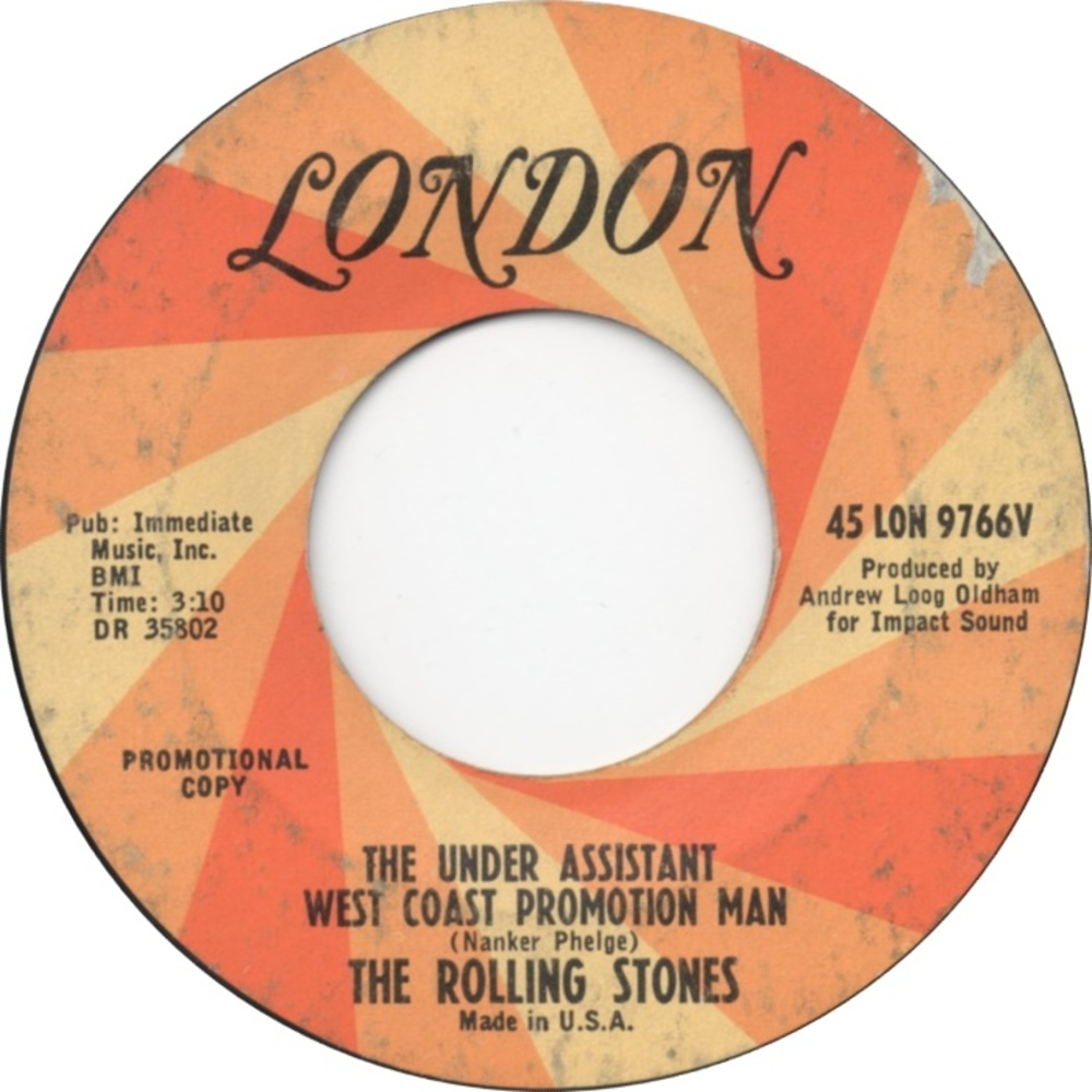 The Rolling Stones - (I Can't Get No) Satisfaction / The Under Assistant West Coast Promotion Man (1965) London