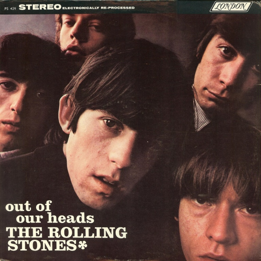 The Rolling Stones - OUT OF OUR HEADS (LP) / 1965 (London)