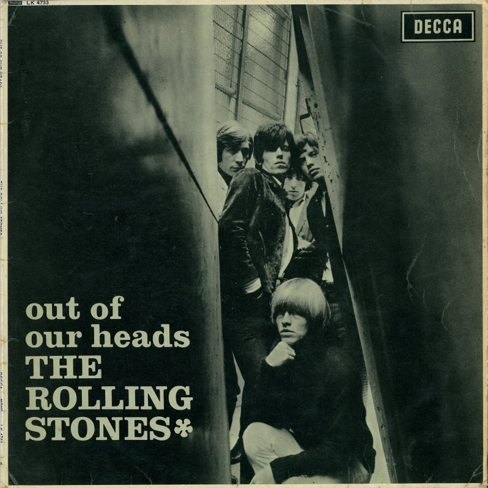 The Rolling Stones - OUT OF OUR HEADS (LP) / 1965 (Decca)