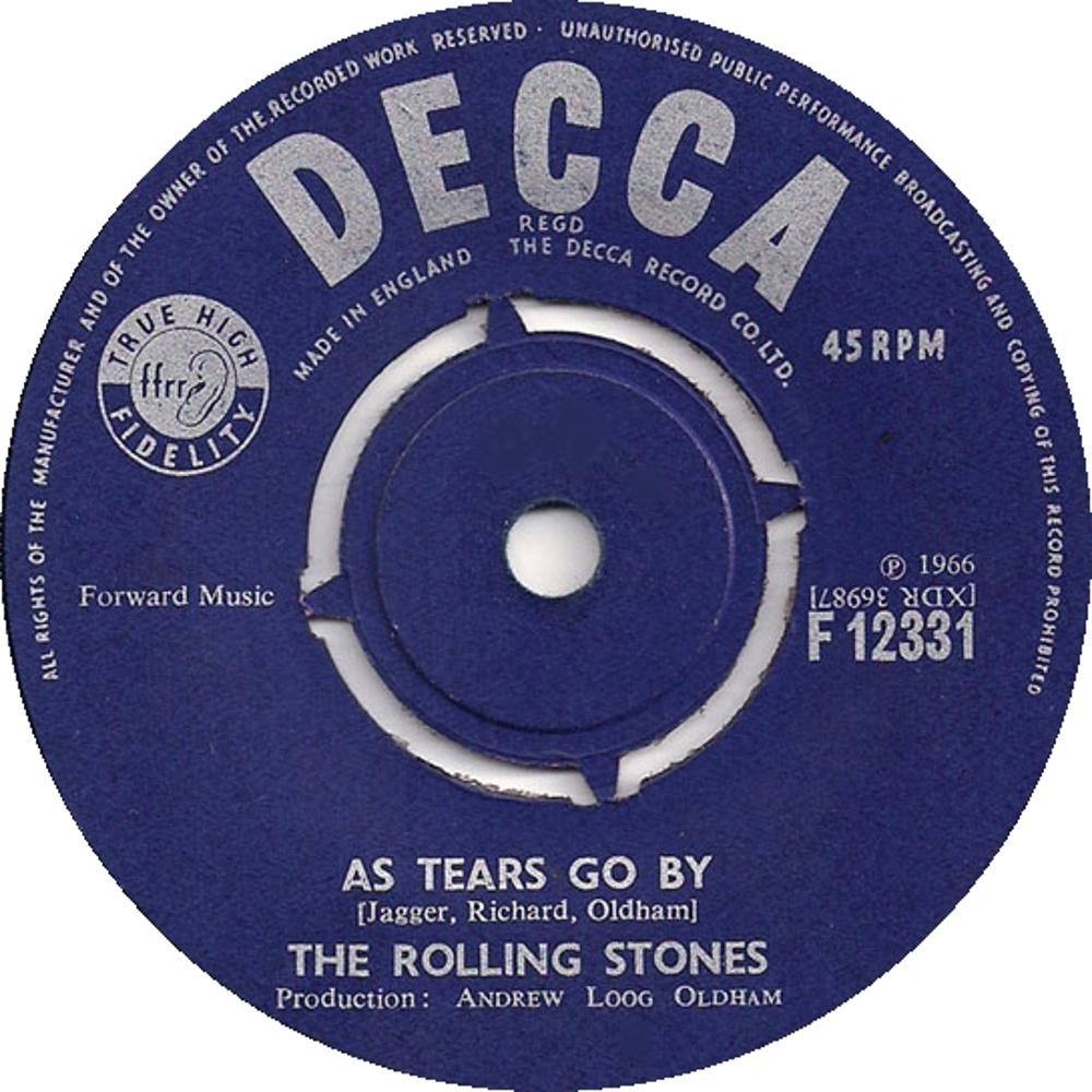 The Rolling Stones - 19th Nervous Breakdown / As Tears Go By (1966)