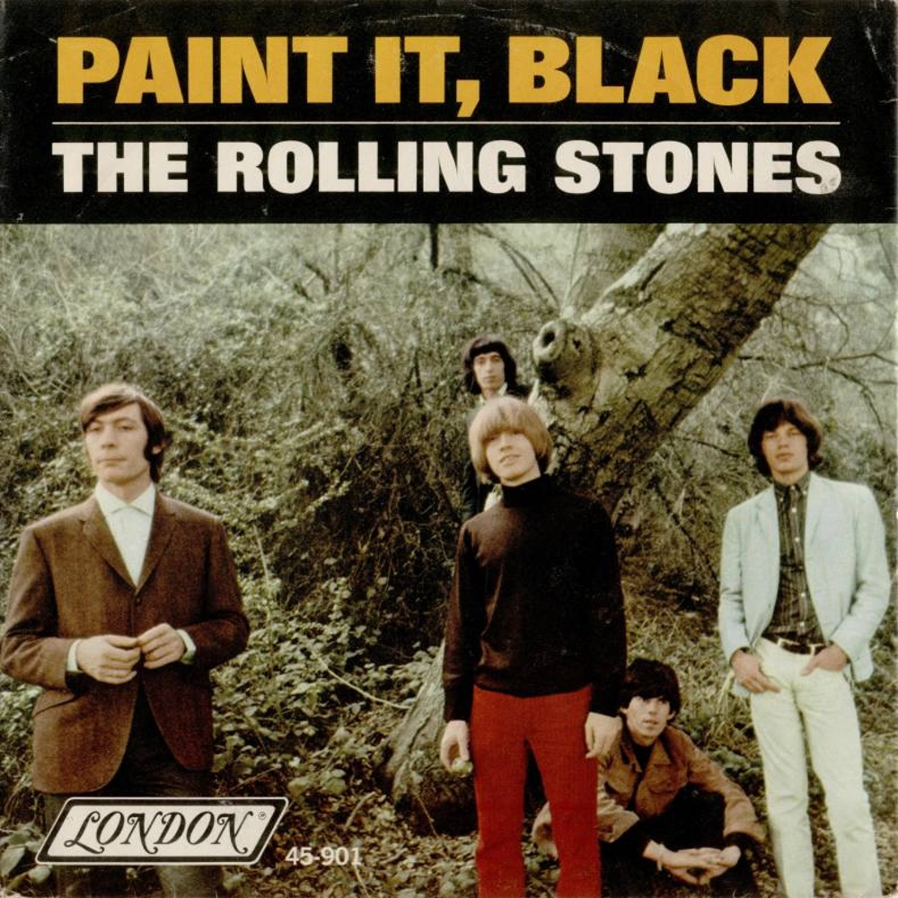 single (USA / London) Paint It, Black / 1966