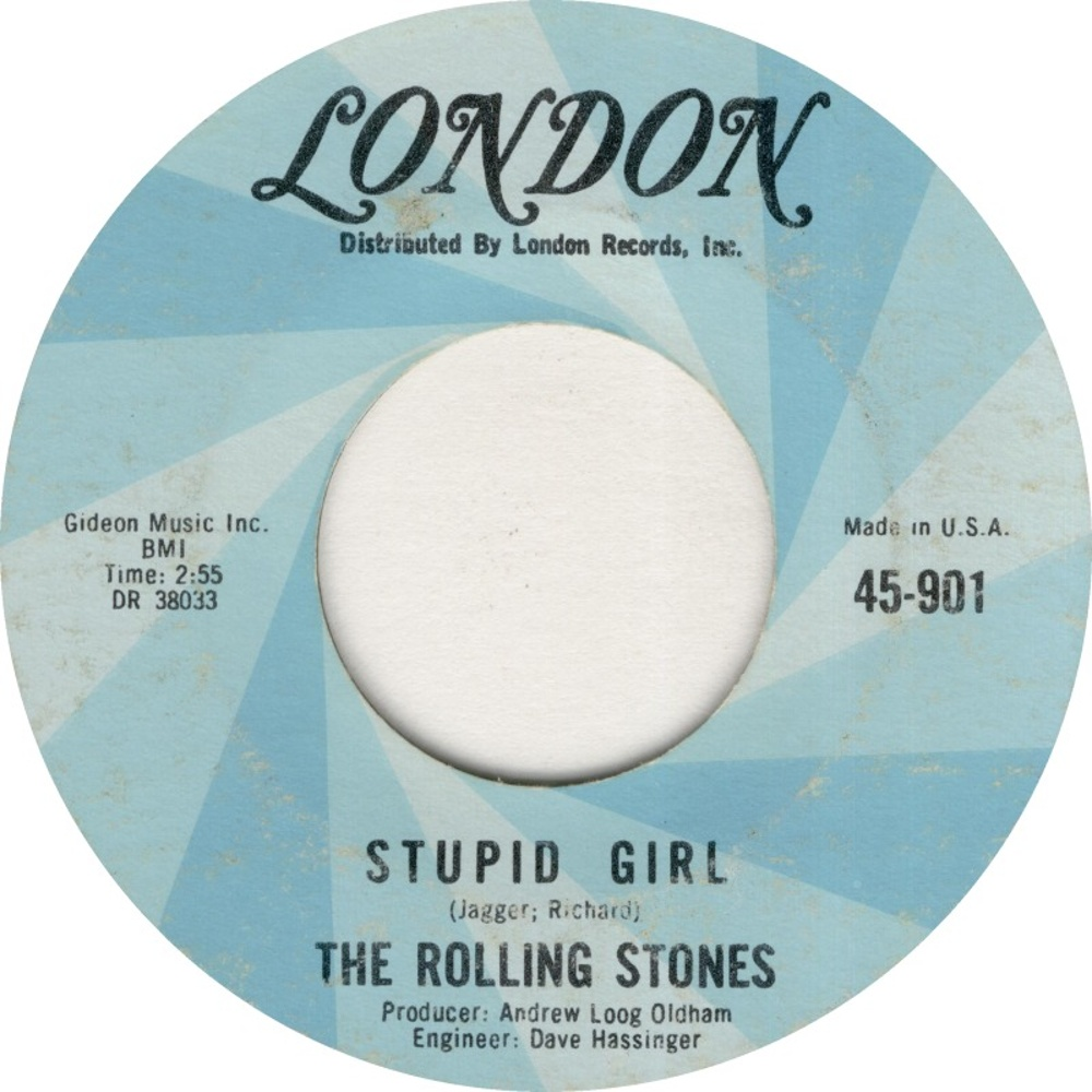 The Rolling Stones - Paint It, Black / Stupid Girl