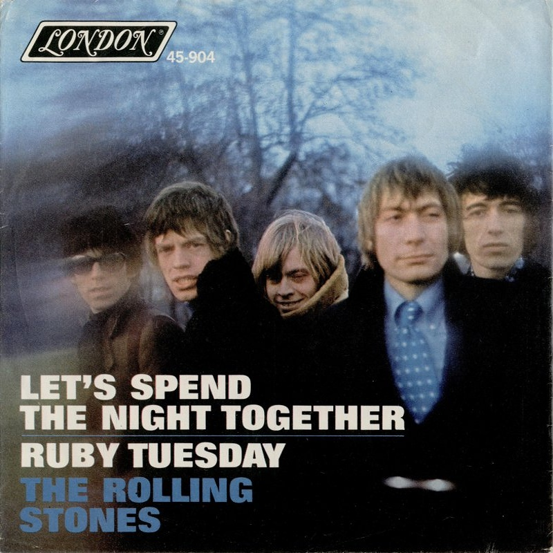 The Rolling Stones - Let's Spend The Night Together / Ruby Tuesday (USA/London) 1967