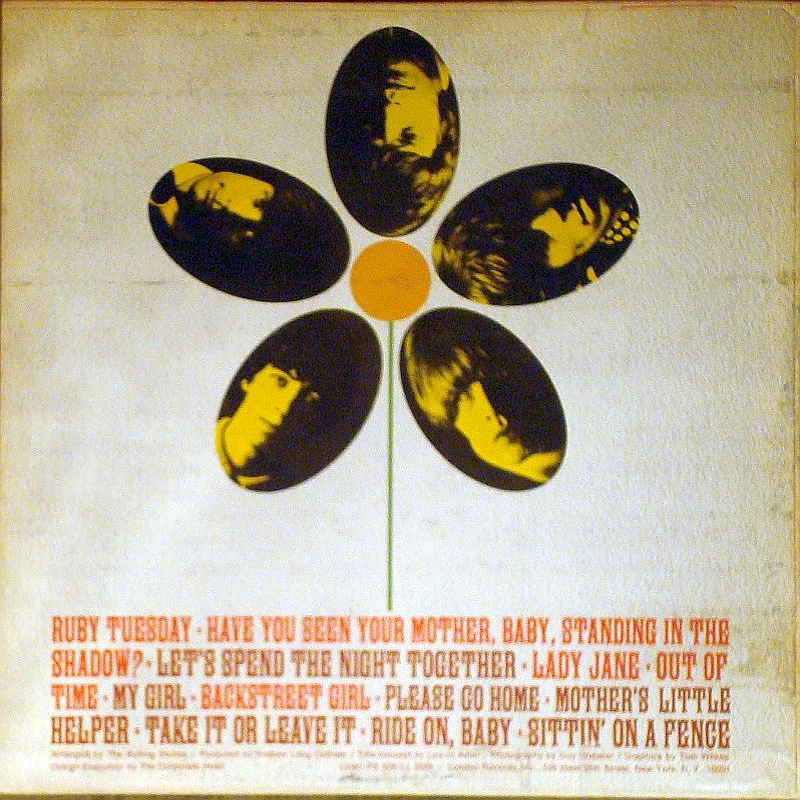 The Rolling Stones - FLOWERS (USA/London) 1967