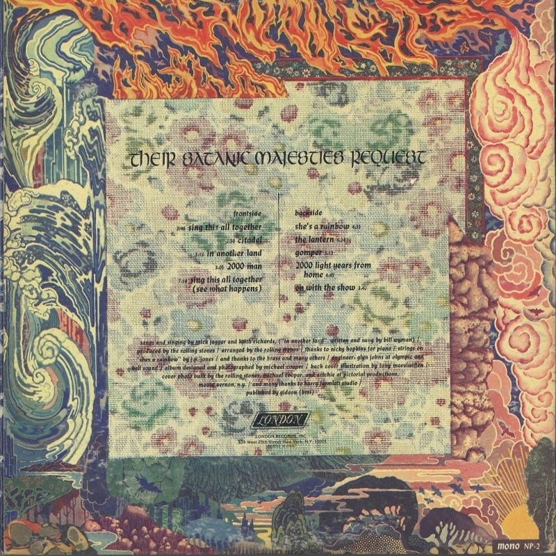 The Rolling Stones - THEIR SATANIC MAJESTIES REQUEST (USA/London) 1967